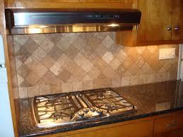 Kitchen With Stone Backsplash Natural Stone Kitchen Backsplash Pontifus