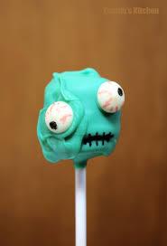 Tramie S Kitchen Zombie Cake Pops