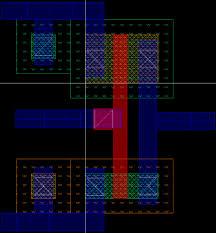 Inverter Layout Design Ee5323 Vlsi Design I Using Cadence