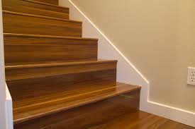 laminate flooring in stair treads with out flush nosing lam stairs jpg