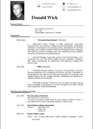 Template Resume Sample Format Template Awful Curriculum Vitae Free