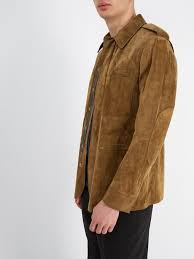 berluti suede leather field jacket outfit 1192805