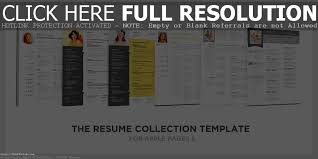 Iwork Pages Resume Templates Modern Cv Layout Pattern Blank