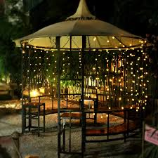 Solar Led Patio String Lights Blackhydraarmouries Inspirations