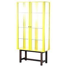 shot glass shelf display cabinet with door