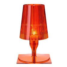 kartell ferruccio laviani take table light orange battery table lamps ferruccio laviani