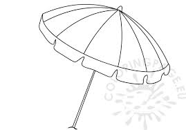 Small Picture Summer colouring pages Open Rainbow beach umbrella Coloring Page