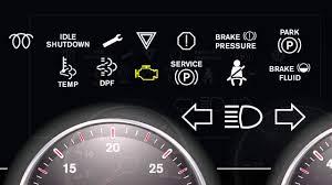 Freightliner Warning Lights International Trucks Dashboard Lights