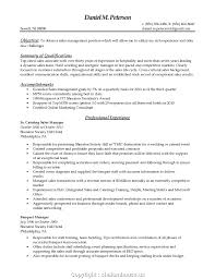 Styles Catering Manager Resume Objective Antique Local 6