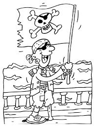 Piratenvlag Piraat Knutselpaginanl Knutselen Knutselen En