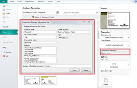 how to create business cards in word how to create business card in microsoft publisher