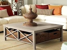 large rustic coffee table best enchanting square coffee tables with storage with awesome regarding large square