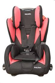 recaro young sport car seat cherry