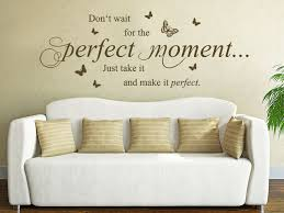 Wandtattoo Perfect Moment Just Take It Bei Homestickerde