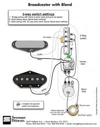 broadcaster blend wiring diagram by seymour duncan guitar wiring broadcaster blend wiring diagram by seymour duncan