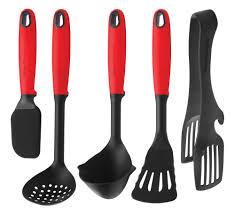 kitchen utensil: swiss diamond kitchen utensil set  swiss diamond kitchen utensil set