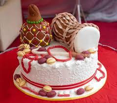 Nigerian Traditional Wedding Cakes Food Nigeria