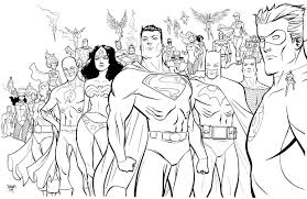 Small Picture DC Super Heroes Coloring Pages 30626 Bestofcoloringcom