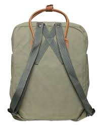 sharo leather bags laptop case brown leather green canvas