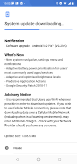 Started Has Android Pie Out 9 7 Nokia Rolling 1 To The qHFFtOSxE
