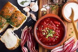 learn about traditional foods from russia traditional ukrainian cuisine beet soup borscht