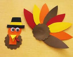 thanksgiving art and craft for kindergarten. thanksgiving turkey craft template art and for kindergarten