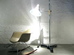 full size of chrome led floor arc lamp shine hai phive curved unique tripod lighting