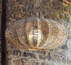 wicker pendant lighting. maori modern wicker saucer pendant lamp lighting