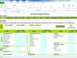Personal Monthly Budget Spreadsheet Budget Excel Sheet Serialeshqip Club