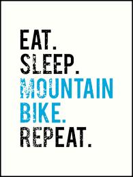Mtb Mountain Bike Mountain Bike Shirt Art Prints By Noritees