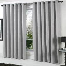 ... Grey Curtain Panels Gray And White Blackout Curtains Grey Curtains  Heavy Cotton Rich Curtains ...