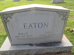Lola Eaton (1924-Unknown) - Find A Grave Memorial