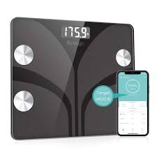 Body Fat Scale Bveiugn Smart Wireless Digital Bathroom Bmi Weight Scale Body Composition Analyzer Health Monitor With Tempered Glass Platform Large
