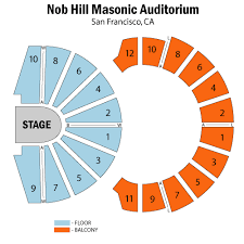 Nob Hill Masonic Seating Chart Pakistani Food Los Angeles