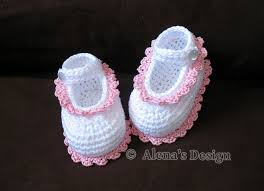 Crochet Baby Shoes Pattern Impressive Crochet Pattern 48 Crochet Baby Shoes By AlenasDesign On Zibbet