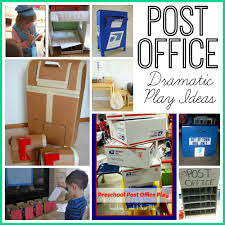 office play. Post Office Dramatic Play Ideas F