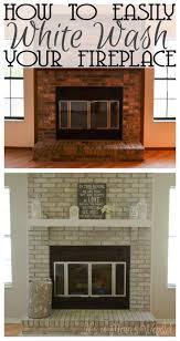 Mantel On Brick Fireplace Top 25 Best Fireplace Redo Ideas On Pinterest Brick Fireplace