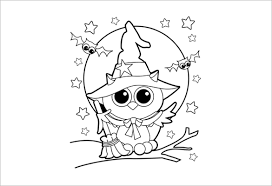 Cute Halloween Coloring Pages For Kids 20 Halloween Coloring Pages Pdf Png Free Premium