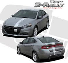 Details About Euro Rally Racing Offset Hood Stripe Vinyl Decal Graphic 2013 2016 Dodge Dart