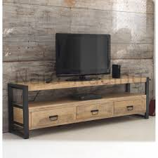 reclaimed wood and metal furniture. Harbour Indian Reclaimed Wood And Metal Furniture Extra Large TV Cabinet Unit L