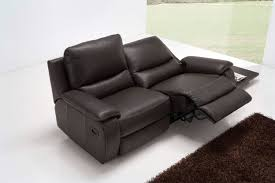 furniture two seater recliner sofa stylish soro 2 leather brown only 449 99 for 16