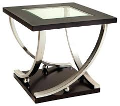 round glass end tables. Glass End Tables Standard Furniture Square Top Table In Rich Dark Side Round