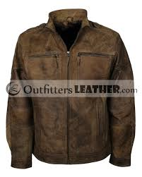 distressed leather motorcycle jacket return to previous page bug fix previous next