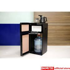 Cây nước nóng lạnh kết hợp bàn pha trà Fujie WD1170E - Máy lọc nước có điện
