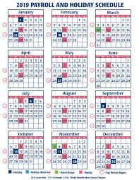 Civilian Pay Chart 2018 2019 Faa Payroll Calendar Faa Managers Association