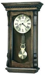 antique pendulum wall clock old clocks medium image for vintage with mute wood