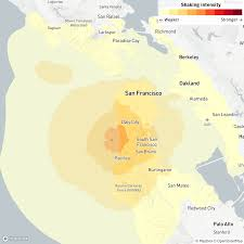 Published june 25, 2015 • updated on october 27, 2017 at 2:06 pm. Magnitude 3 5 Earthquake Felt Across San Francisco Bay Area Los Angeles Times