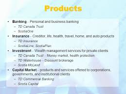 5 s banking personal and business banking td canada trust scotiaone insurance