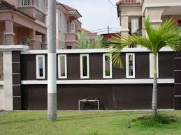 Small Picture Wall Fencing Designs Design Ideas