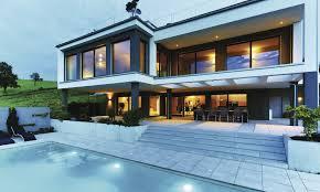 Weberhaus 3 Storey Modular House With Sauna And Pool